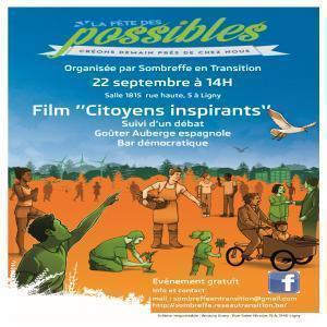 "Projection du film ""Citoyens inspirants"" à Sombreffe le 22 septembre 2018"